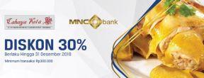 Diskon 30% di Cahaya Kota menggunakan Kartu Kredit MNC