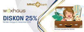 Diskon 5% All Single Treatment di Waxhaus dengan Kartu Kredit MNC