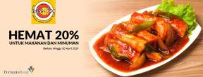 Hemat 20% Makanan dan Minuman di Miss Heo dengan Kartu Kredit Permata