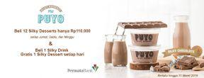 Promo Spesial Puyo Dessert dengan Kartu Kredit Permata