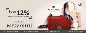 Hemat 12% di Reebonz dengan kartu Kredit Citibank