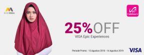 Diskon 25% di Rabbani dengan Kartu Kredit Mega Visa