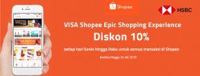 HSBC x Shopee Epic Shopping Experience 10% OFF setiap Senin - Rabu