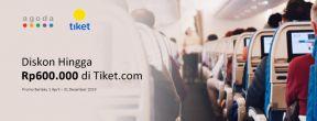 Diskon Hingga Rp600ribu di Tiket.com dengan Kartu Kredit Standard Chartered