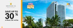 Hemat hingga 30% di Shangri-La Hotel dengan Kartu Kredit Mega