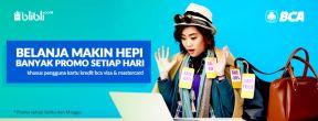 Weekend Deals Blibli Ekstra Diskon Hingga Rp 125.000 dengan Kartu Kredit BCA
