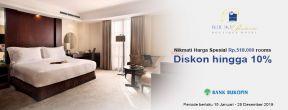 Harga Spesial Rp.518.000 dan Diskon hingga 10% di HotelBlue Sky Hotel Pandurata Boutique Hotel Jakarta