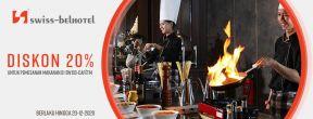 Diskon 20% di Swiss-Belhotel dengan Kartu Kredit BCA