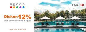 Diskon 12% untuk Pemesanan Hotel di Agoda dengan Kartu Kredit HSBC