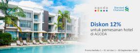 Diskon 12% di Agoda dengan Kartu Kredit Standard Chartered