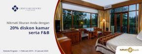 Diskon di Lido Lake Resort by MNC Hotel dengan Kartu Kredit MNC