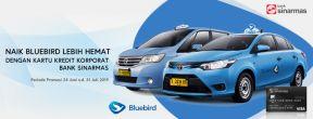 Lebih Hemat Naik Bluebird dengan Kartu Kredit Corporate Sinarmas