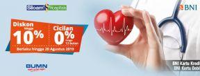 Potongan hingga 10% di Rumah Sakit Siloam dengan Kartu BNI