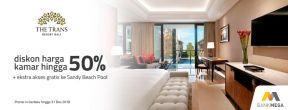 Diskon Hingga 50% di Trans Resort Bali dengan Kartu Kredit Mega