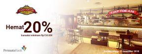 Hemat 20% di Tjap Toean dengan Kartu Kredit Permata
