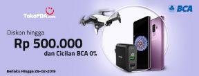 Diskon hingga Rp 500.000 dan Cicilan BCA 0% di Toko PDA dengan Kartu Kredit BCA