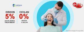 Diskon 5% di Klinik Palapa Dentist dengan Kartu Kredit CIMB Niaga