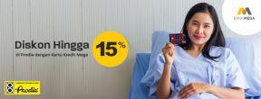 Diskon Hingga 15 % Prodia dengan Kartu Kredit Mega