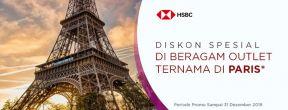 Diskon Spesial di Beragam Outlet Ternama di Paris dengan Kartu Kredit HSBC