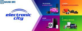 Dapatkan Diskon Rp 400 ribu Belanja di Electronic City dengan Kartu Kredit BRI