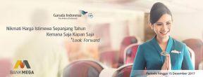 Dapatkan Harga Kompetitif Untuk Semua Jadwal Penerbangan Dengan Kartu Kredit Bank Mega