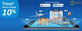 Diskon Hingga 10% di Padiciti Travel dengan Kartu Kredit BCA