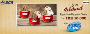 Hadiah spesial oleh scoop di Haagen Dazs dengan Kartu Kredit BCA