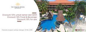 Diskon Hingga 15% di The Tanjung Benoa dengan Kartu Kredit CIMB Niaga