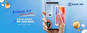 Promo Belanja Irit Erafone Cicilan 0% Sepanjang Tahun dengan Kartu Kredit BRI