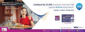 Cashback Rp 25.000 setiap Kamis di App Dana dengan Kartu Kredit AEON