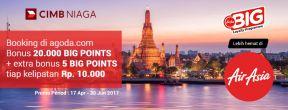 Bonus 20.000 BIG Points Khusus Pemegang Kartu Kredit CIMB Niaga AirAsia BIG