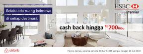 Cashback Hingga 700ribu di Airbnb untuk Pemegang Kartu Kredit HSBC Premier Mastercard