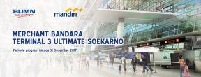 Fasilitas Merchant Bandara untuk Pemegang Mandiri Kartu Kredit