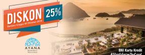 Diskon 25% di Ayana Komodo Resort Waecicu Beach dengan Kartu Kredit BNI