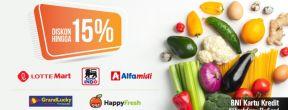 Diskon Hingga 15% di Merchant Pilihan dengan Kartu Kredit BNI