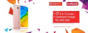 Cicilan 0% dan Cashback sd 500ribu di Erafone dengan Kartu Kredit CIMB Niaga