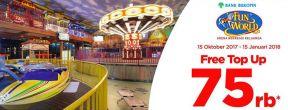 Gratis Top Up Senilai 75000 di Funworld dengan Kartu Kredit Bukopin