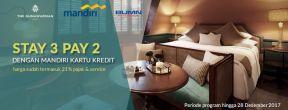 Menginap 3 Hari Bayar 2 Hari di Gunawarman Hotel dengan Mandiri Kartu Kredit
