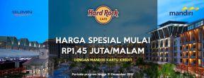 Harga Spesial di Hard Rock Hotel Bali dengan Kartu Kredit Bali