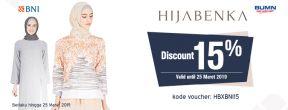 Hemat 15% di Hijabenka dengan Kartu Kredit Permata