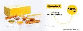 Diskon 50% di Hokkaido Bay dengan Maybank Kartu Kredit