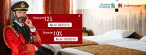 Diskon Hingga 12% di Hotels.com dengan Kartu Kredit Standard Chartered
