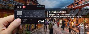 Diskon Hingga 20% di Merchant Pilihan di Jepang dengan Kartu Kredit HSBC
