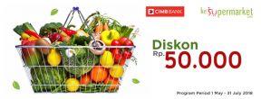 Diskon Rp 50.000 di ke Supermarket.com dengan Kartu Kredit CIMB Niaga