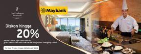 Diskon hingga 20% dengan Maybank Kartu Kredit & Debit di Hotel Indonesia Kempinski