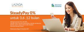 Cicilan 0% di Lazada dengan Kartu Kredit Standard Chartered
