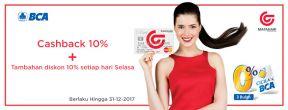 Penawaran Spesial Kartu Kredit BCA dan Matahari Department Store