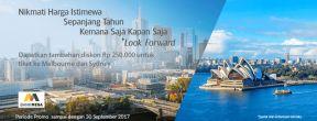 Ekstra Diskon 200ribu untuk Tiket Garuda Indonesia dengan Kartu Kredit Mega