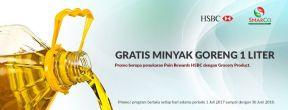 Gratis 1L Minyak Goreng untuk Pemegang Kartu Kredit HSBC dengan Belanja di SMARCO