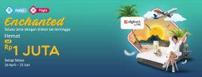 Hemat Hingga 1 Juta Pesan Hotel + Flight di Mister Aladin dengan Kartu Kredit Digibank by DBS
